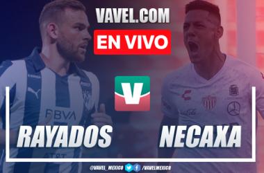 Goles y Resúmen: Monterrey 2-1 Necaxa en Liga MX 2019