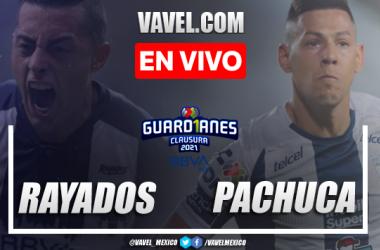 Goles y Resumen del Rayados 0-1 Pachuca, Jornada 15 Liga MX 2021
