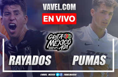 Goles y resumen del Rayados de Monterrey 2-0 Pumas UNAM en Liga MX 2021