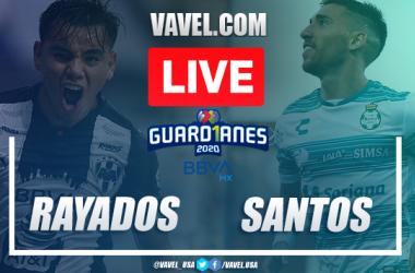 Goals and highlights: Rayados de Monterrey 2-2 Santos Laguna, Guard1anes 2020 Liga MX