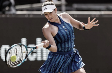 Garbiñe Muguruza venceu Elena Rybakina no WTA 500 de Berlin 2021 (WTA / Divulgação)