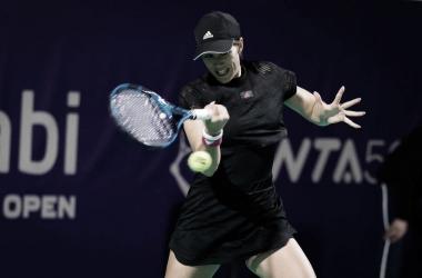 Kenin y Muguruza debutan con una victoria en Abu Dhabi; Podoroska no pudo ganar en su debut