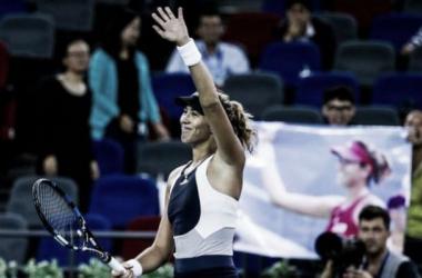 Garbine Muguruza looks set to be ranked third in the world in the near future (picture: WTA)