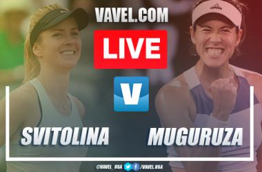 2020 Australian Open: Elina Svitolina vs Garbine Muguruza Live Stream Online TV and Score Updates