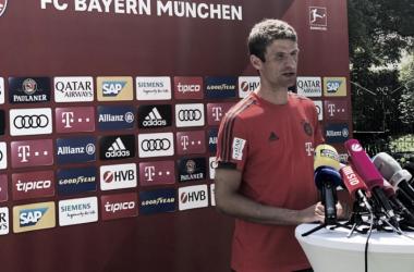 Müller: ''Estamos aquí para entrenar''