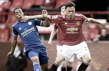 Manchester United y Leicester City se enfrentan / Foto: Premier League