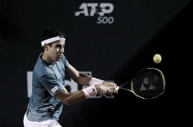 Jaume Munar durante el ATP 500 de Río de Janeiro. Foto: gettyimages.es