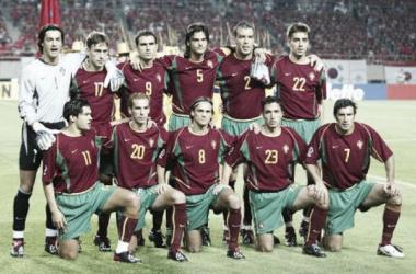 Equipa portuguesa na Coreia/Japão. Fonte (Lusa)