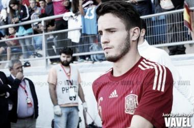 Saúl con la selección.. / FOTO: Juan Ignacio Lechuga, VAVEL
