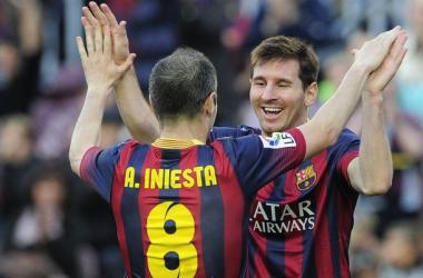 Messi e Iniesta superan a Xavi Hernández con 26 títulos