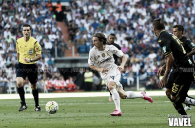 Luka Modric fue fundamental en el último encuentro liguero del Madrid. Imagen: Vavel