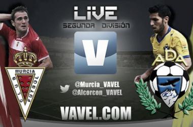 Real Murcia - Alcorcón en directo en la jornada 34 de la Liga Adelante