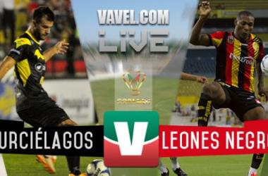 Resultado Murciélagos - Leones Negros en Copa MX 2015 (1-1)