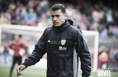 Murillo en el Barça 2-1 Valencia de la pasada campaña | Foto: Noelia Déniz (VAVEL)