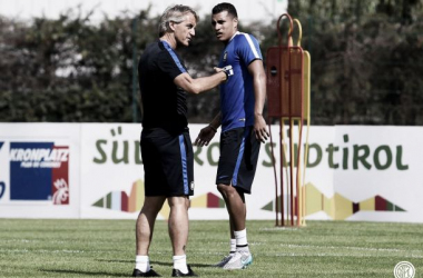 Jeison Murillo ya entrenó con el Inter de Milán