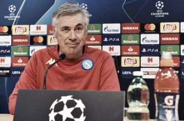 """Napoli-Stella Rossa, parla Ancelotti: """"Partita non decisiva. Se non passiamo il turno siamo dei coglioni"""""""