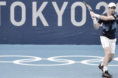 Andy Murray desiste da chave de simples masculina em Tokyo 2020 (Divulgação / COI)