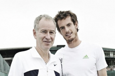 John McEnroe (left) and Andy Murray were rumoured to be joining forces in May. Photo: Toby Melville/PA