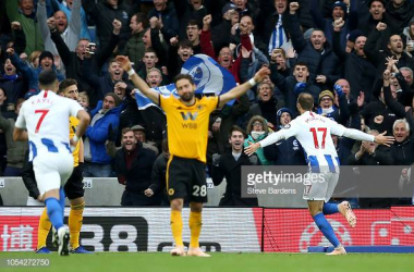 Brighton 1-0 Wolves: Murray's 100th Brighton goal seals third win in a row for Seagulls