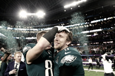 Foles, de suplente de Wentz a MVP de la Super Bowl LII