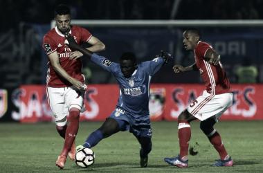 Na época passada, os encarnados ganharam por 0-1 ao Feirense. // Fonte: Sic Notícias