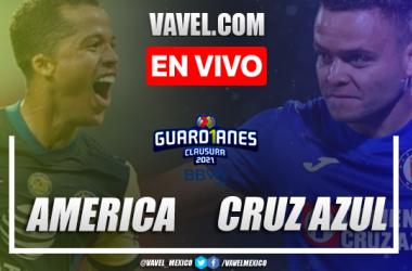 Goles y resumen del América 1-1 Cruz Azul en Liga MX 2021