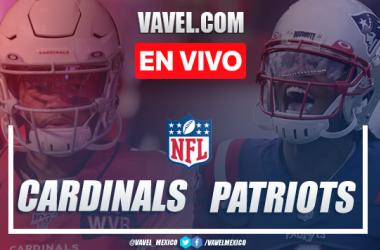 Resumen y anotaciones del Arizona Cardinals 17-20 New England Patriots en Semana 12 NFL 2020