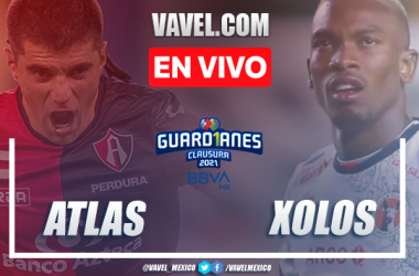 Gol y resumen del Atlas 1-0 Xolos Tijuana en Liga MX 2021
