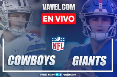 Resumen y touchdowns del Dallas Cowboys 19-23 New York Giants en NFL 2020