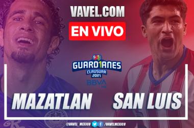 Goles y resumen del Mazatlán 0-3 Atlético San Luis en Liga MX 2021