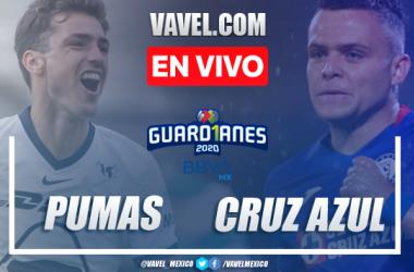 Goles y resumen del Pumas 4-0 Cruz Azul en Liguilla Liga MX 2020