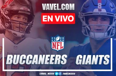Resumen y anotaciones del Tampa Bay Buccaneers 25-23 New York Giants en NFL 2020