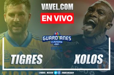 Goles y resumen del Tigres 3-2 Xolos Tijuana en Liga MX 2021