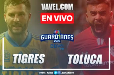 Goles y resumen del Tigres 2-1 Toluca en Repechaje Liga MX en 2020