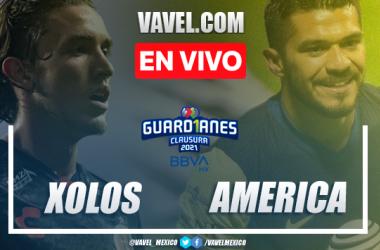 Goles y resumen del Xolos Tijuana 0-2 América en Liga MX 2021