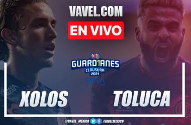 Goles y resumen del Xolos Tijuana 3-2 Toluca en Liga MX 2021
