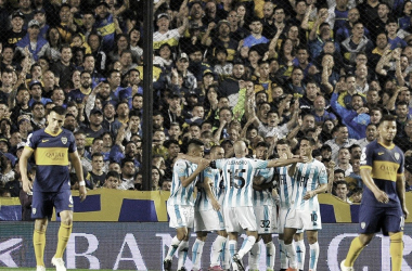 """ÚLTIMO EXITO FUE """"ACADEMICO"""". El último partido entre ambos, la victoria fue para Racing. Foto: Web"""