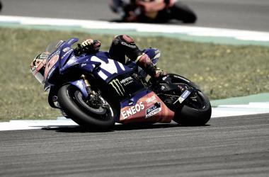 MotoGP - Le Mans, FP3: Vinales il più veloce; secondo e caduto Marquez | Foto Movistar Yamaha