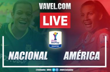 Resumen Nacional vs América (0-1) por Liga Femenina