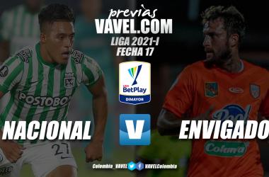 Previa Atlético Nacional vs Envigado: por la clasificación verdolaga a los playoffs