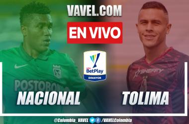 Resumen y gol: Nacional 1-0 Tolima en la fecha 2 por Liga BetPlay 2021-II