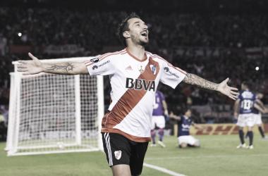 Nacho, la estrella de la serie: le hizo cinco a los bolivianos en la vuelta (Foto: Yahoo Deportes).