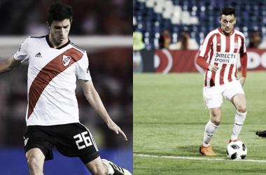 Fernández y Zuqui serán piezas fundamentales en el mediocampo de cada equipo (Fotomontaje: Adrián Gallardo)