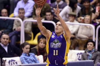Nacho Martín durante un partido de la pasada temporada con el CB Valladolid. (Imagen: ACB Photo).