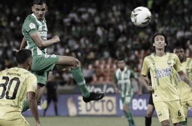 Nacional y Bucaramanga quedaron en tablas en el Atanasio Girardot