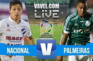 Resultado Nacional x Palmeiras na Copa Libertadores 2016 (1-0)