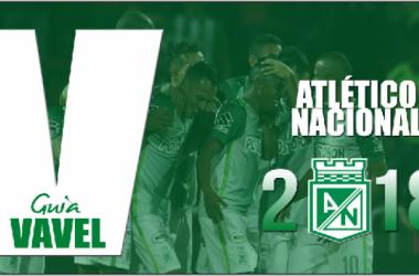 Guía VAVEL Liga Águila 2018-I: Atlético Nacional | Foto: VAVEL Colombia