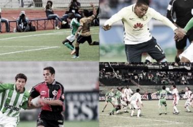 Seis equipos 'aztecas' han rivalizado contra Nacional entre partidos amistosos y oficiales. | Fotomontaje: VAVEL