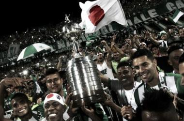Atlético Nacional ganó la segunda Copa Libertadores en el año 2016, tras 27 años. El objetivo para este año es revalidar el título algo que no sucede desde el 2001 cuando Boca ganó la Copa como vigente campeón. | Foto: EFE