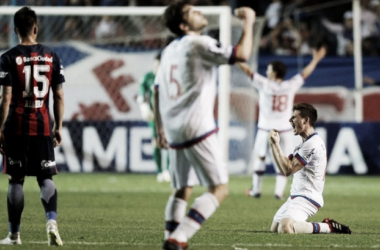 San Lorenzo se despide de la Copa Sudamericana   Foto: Infobae